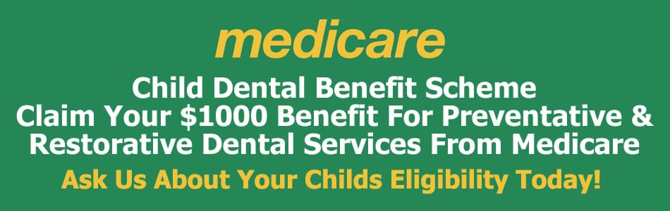 Redclife Dentist Child Dental Benefit Scheme